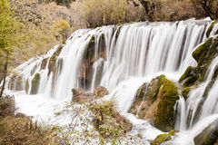 Pearl shoal waterfalls Royalty Free Stock Image