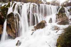 Pearl shoal waterfalls Stock Images
