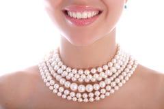 pearl smile Στοκ εικόνες με δικαίωμα ελεύθερης χρήσης