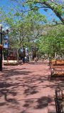 Pearl Street Mall Boulder Royalty Free Stock Photography