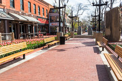 Pearl Street Mall Royalty Free Stock Images