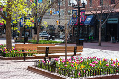 Pearl Street Mall Royalty Free Stock Photo