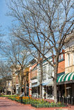 Pearl Street Mall stock photography