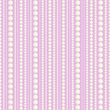 Pearl thread. Seamless pattern with pearl thread Stock Image