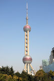 Pearl Tower Royalty Free Stock Photography