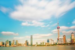 Pearl Tower Near Body of Water Under Clouds Photo Taken Stock Photo