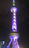 Pearl Tower at Night Royalty Free Stock Photo