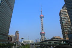 Pearl tower, Shanghai Stock Image