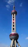 Pearl tower shanghai Royalty Free Stock Image