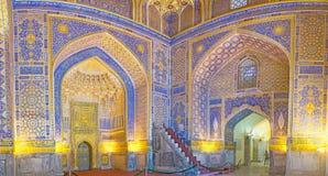 The pearl of Uzbek art Stock Photos