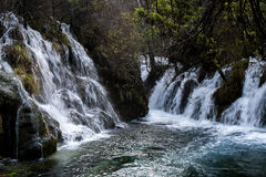 Pearl water fall. Royalty Free Stock Photography