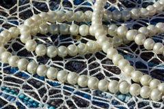 pearl white Fotografia Stock