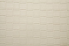 Artificial fabric texture pearl white color Royalty Free Stock Image