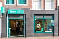 Pearletak in het stadscentrum van Gouda, Nederland Stock Fotografie