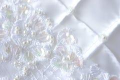 pearls сатинировка Стоковое Фото