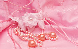 Pearls Stock Image