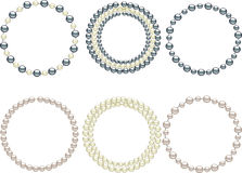 Pearls royalty free illustration