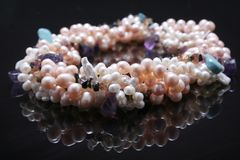 Pearls. Stock Images