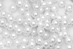 Pearls background Royalty Free Stock Photo