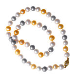 Pearls bead Royalty Free Stock Photo