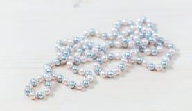 Pearls beads Stock Photo