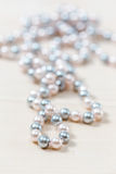 Pearls beads Royalty Free Stock Images