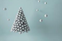 Pearls Christmas tree. Royalty Free Stock Image