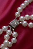 Pearls and Clasp Stock Photo