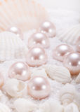 Pearls Stock Photography