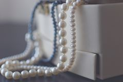 Pearls 2 stock images