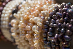 Pearls in a Doha souq Stock Photos