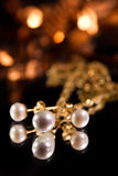 Pearls and gold Royalty Free Stock Photography