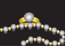 Pearls. Stock Photography