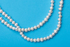 Pearls necklace Stock Photography