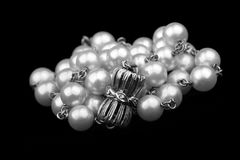 Pearls necklace royalty free stock photography