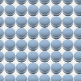 Pearls pattern Royalty Free Stock Images