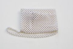 Pearls purse Royalty Free Stock Photos