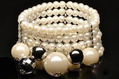 Pearlsbracelet Stock Images