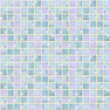 Pearly Blue Opal Mosaic seamless Stock Image