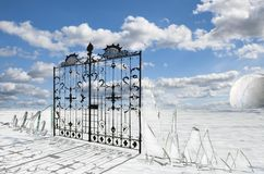 Pearly Gates Stock Photography
