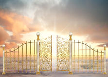 Pearly Gates Landscape Royalty Free Stock Image