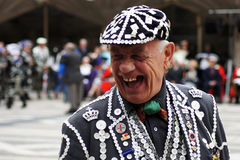 Pearly King Royalty Free Stock Photography