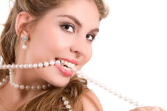 Pearly whites Royalty Free Stock Photos