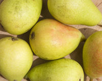 Pears. Box of some pears ready to eat Royalty Free Stock Photo