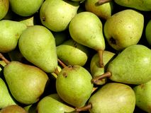 Pears. Detail photo texture of the pears background Royalty Free Stock Photo