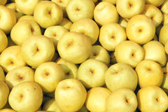 Pears. The background of crisp pears Royalty Free Stock Images