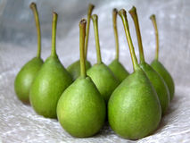 Pears. Pers on white Royalty Free Stock Photo