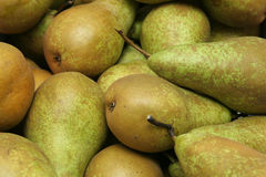 Pears. A pile of pears fresh from the farmer Royalty Free Stock Photo