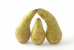 Pears. As the abstract shape Stock Photo