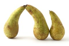 Pears. As the abstract shape Stock Image